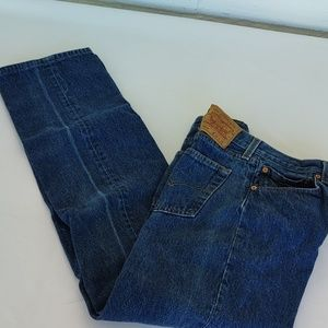Blue Jean 501 Levi's 36 / 36 Made in USA